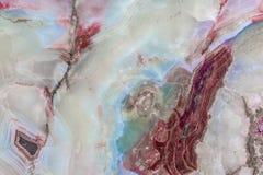 在白色,红色的优美的花岗岩和蓝色 免版税库存图片