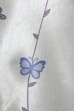在白色backgruond的蓝色蝴蝶 库存照片