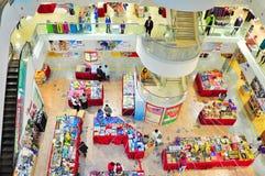 在百货商店,香港的翼 免版税库存照片