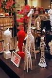在百货商店卖的装饰品 库存照片
