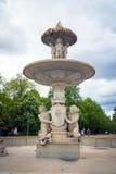 在的喷泉 免版税库存照片