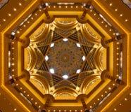 在皇家宫殿的圆顶屋顶 免版税库存图片