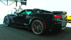 在皇家车展的新的美国肌肉汽车 库存图片