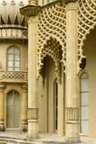 在皇家Pavillon,布赖顿的专栏 图库摄影