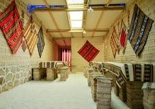 在盐沙漠盐溶旅馆, Uyuni,玻利维亚 库存照片