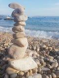 在盐的岩石 免版税图库摄影