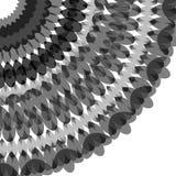 在盘旋混乱在圈子的背景的抽象 库存照片