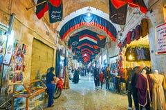 在盛大义卖市场,喀山,伊朗 免版税库存照片