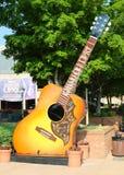 在盛大好极了Opry的吉他 图库摄影