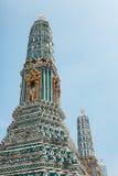 在盛大宫殿的Stupa我 库存图片