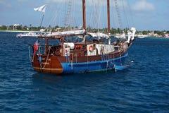 在盛大Caymen的风船 库存图片