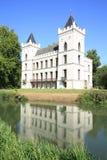 在省乌得勒支,荷兰的历史的城堡Beverweerd 图库摄影
