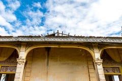 在省金边柬埔寨2015年11月的古庙 免版税库存照片