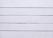 在看法上的老白色木桌背景 库存照片