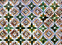 摩尔人陶瓷砖 免版税图库摄影