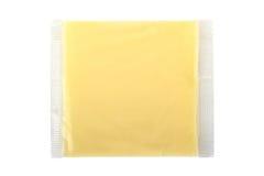 在真空包装的乳酪 免版税图库摄影