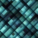 在矩阵样式的抽象几何样式和 免版税图库摄影