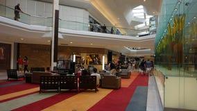 在短的小山的购物中心在新泽西 库存图片