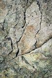 在石头花岗岩块的抽象镇压  库存图片
