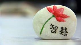 画在石面孔 免版税图库摄影