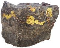 在石头的金包括 图库摄影