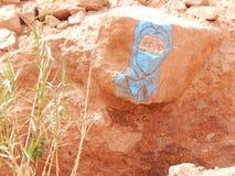 画在石头 免版税图库摄影