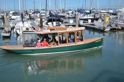 在码头39的小船 弗朗西斯科・圣 库存图片