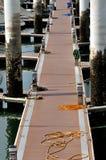 在码头的路径byboard 库存照片