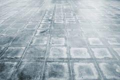 在砖地或走道上的样式 图库摄影