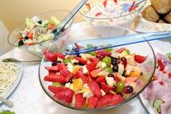 在碗的果子混合物 免版税库存照片