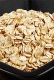 在碗的燕麦 免版税库存照片