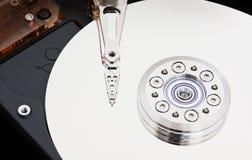 在磁性硬盘关闭里面  库存照片