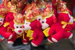 在礼品店的纪念品在中国镇,新加坡 库存照片