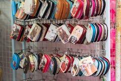 在礼品店的纪念品在中国镇,新加坡 免版税库存照片