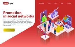 在社会网络的促进 Chatbot,录影广播,故事, SMM促进,网上逻辑分析方法 社会网络的人们 3d puz 图库摄影