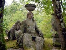 在神圣的树丛里蜡膜 免版税库存图片