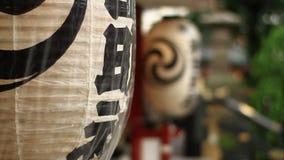 在神田寺庙的灯笼在东京 影视素材