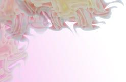 在禅宗样式的抽象花 库存图片