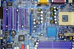 在私人收集的计算机主板2014年11月23日 库存图片