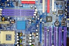 在私人收集的计算机主板2014年11月23日 免版税库存照片