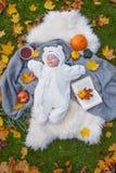 在秋天公园 库存照片