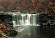 在秋天期间,坎伯兰郡落 免版税图库摄影