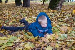 在秋天的休息 免版税库存照片
