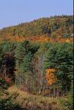 在秋天的山 库存照片