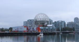在科学,温哥华,不列颠哥伦比亚省4K TELUS世界的科学世界  股票录像