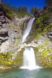 在科拉半岛,俄罗斯的瀑布 库存照片
