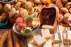 在科珀斯克里斯蒂庆祝的传统甜点在厄瓜多尔 库存照片