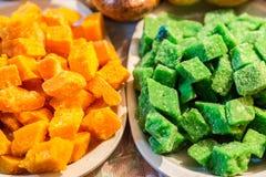 在科珀斯克里斯蒂庆祝的传统甜点在厄瓜多尔 库存图片