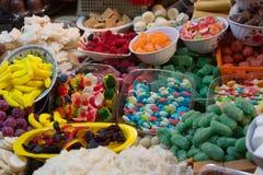 在科珀斯克里斯蒂庆祝的传统甜点在厄瓜多尔 免版税库存照片