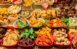 在科珀斯克里斯蒂庆祝的传统甜点在厄瓜多尔 免版税库存图片